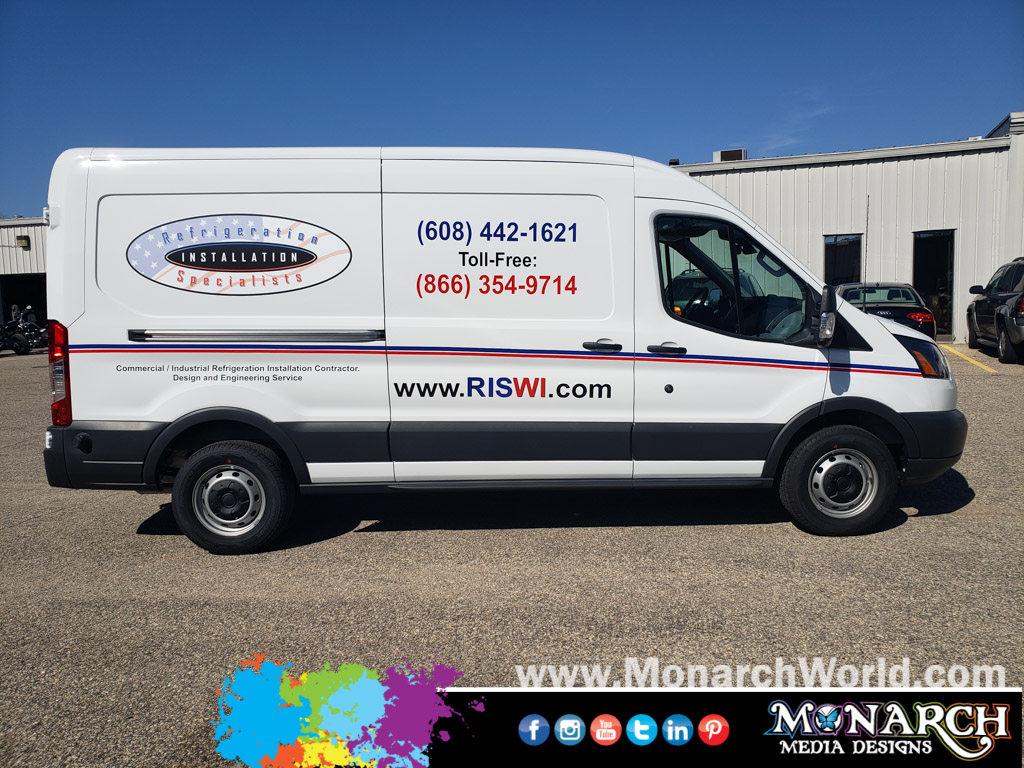 Ris Van Full Color Vinyl Graphics