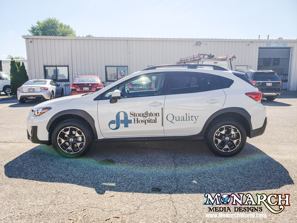 Stoughton Hospital Car Graphics Quality