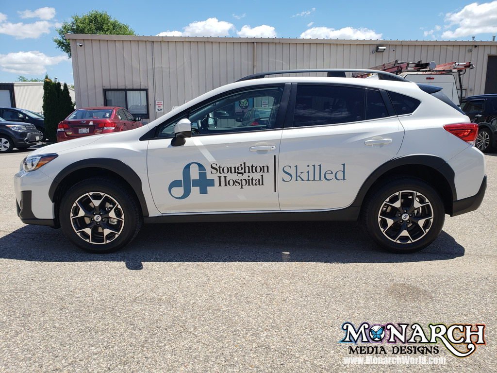 Stoughton Hospital Car Graphics Skilled
