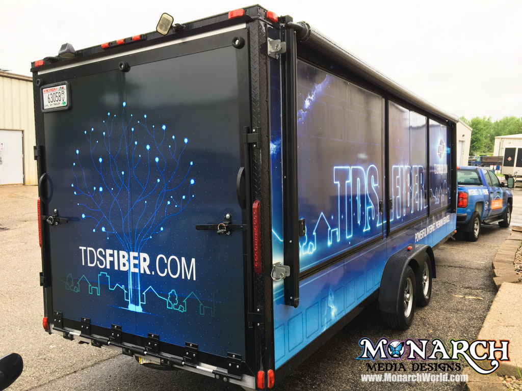 Tds Telecom Trailer Wrap Madison Wi