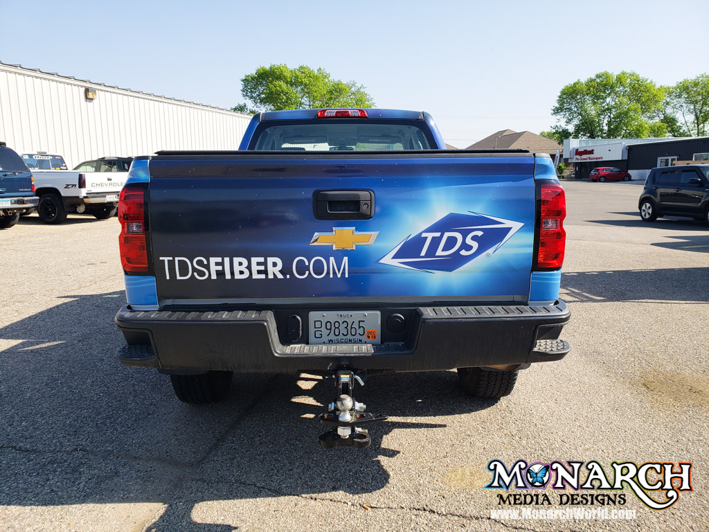 Tds Telecom Truck Wrap Madison Wi