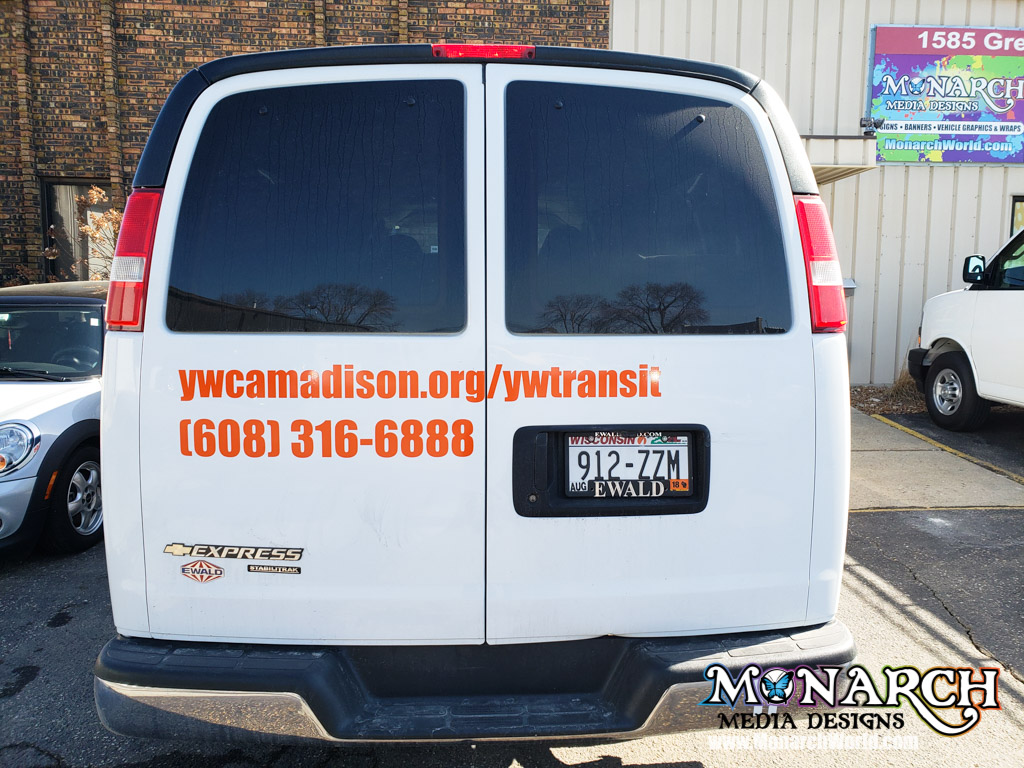 Ywca Madison Cut Vinyl Graphics