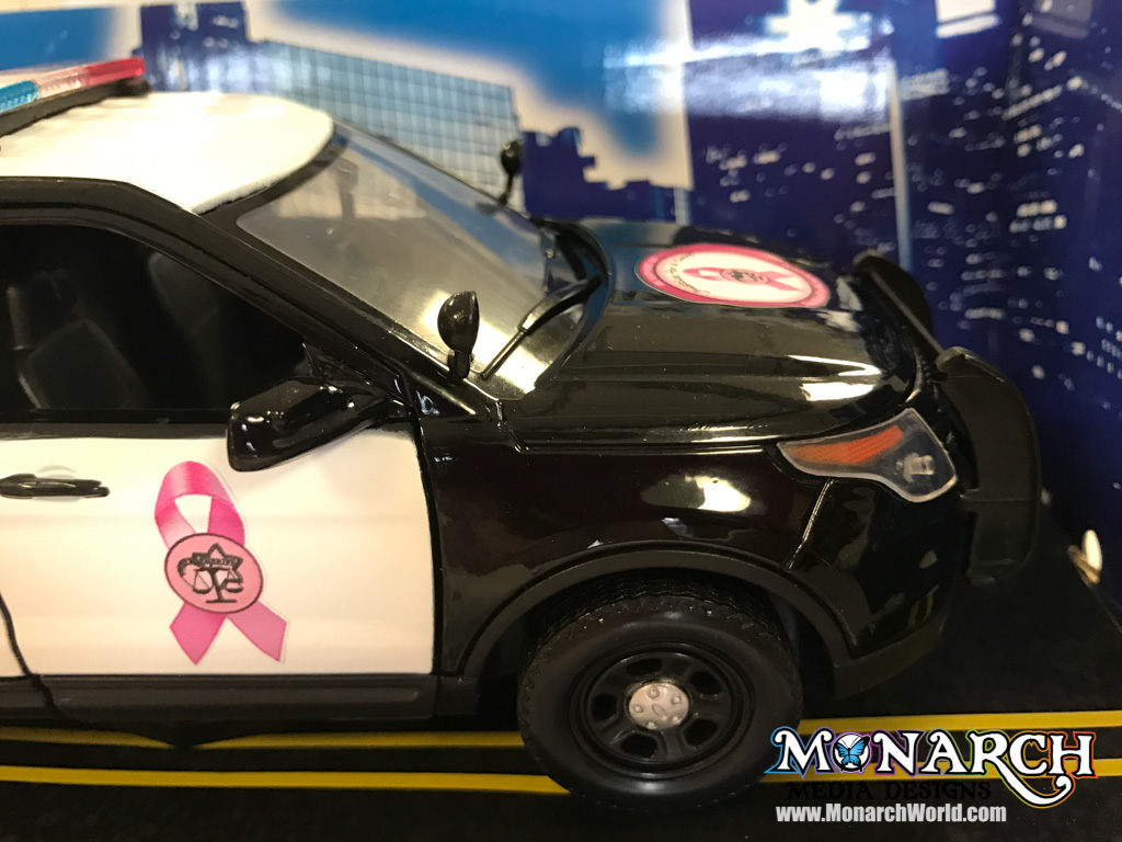 Justice For A Cure Mini Car Wrap