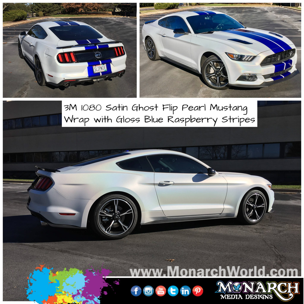 Mustang Wrap Collage