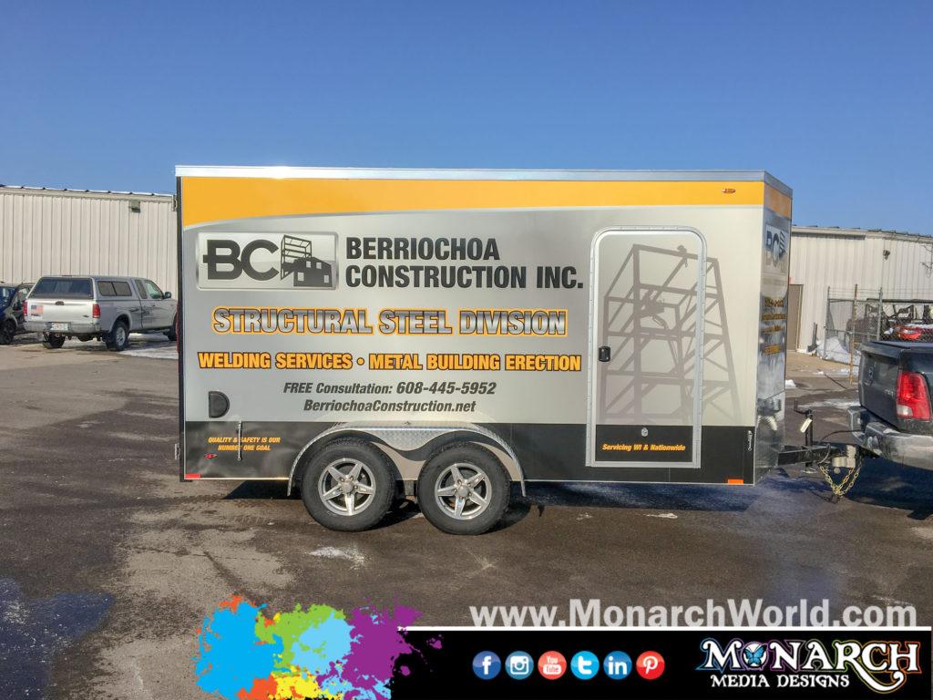 Berriochoa Trailer Full Wrap