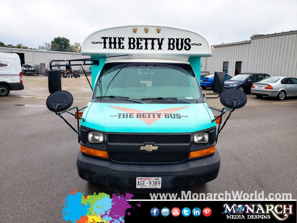 Betty Bus Vinyl Graphics