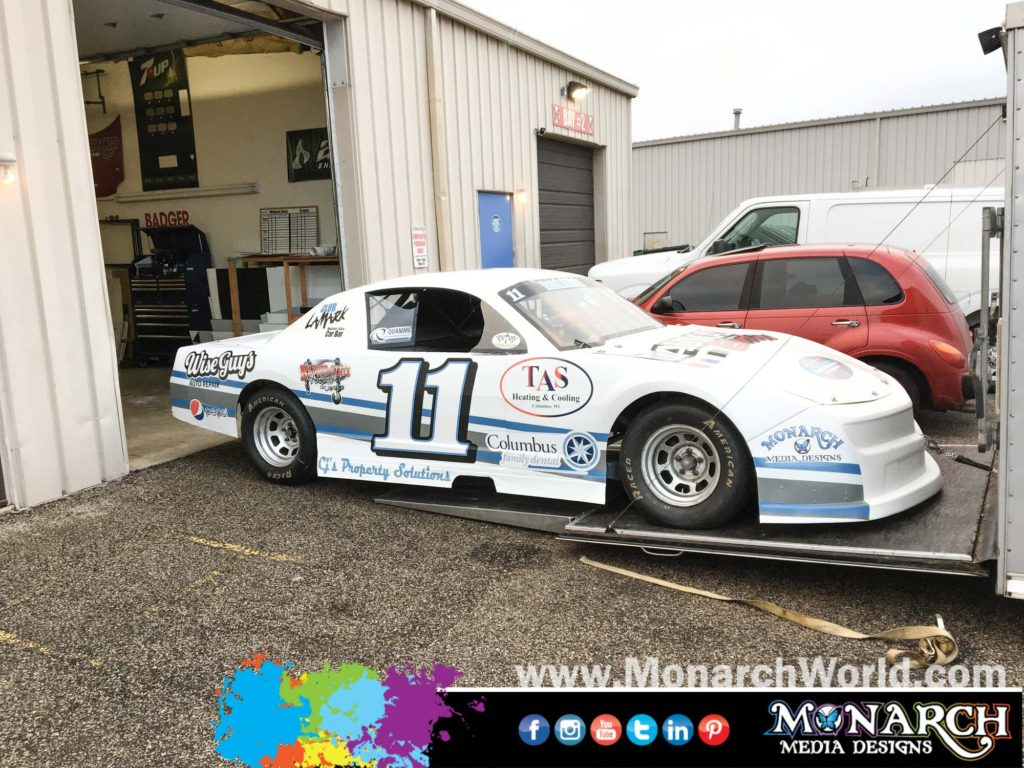 Bryce Miller Race Car Graphics