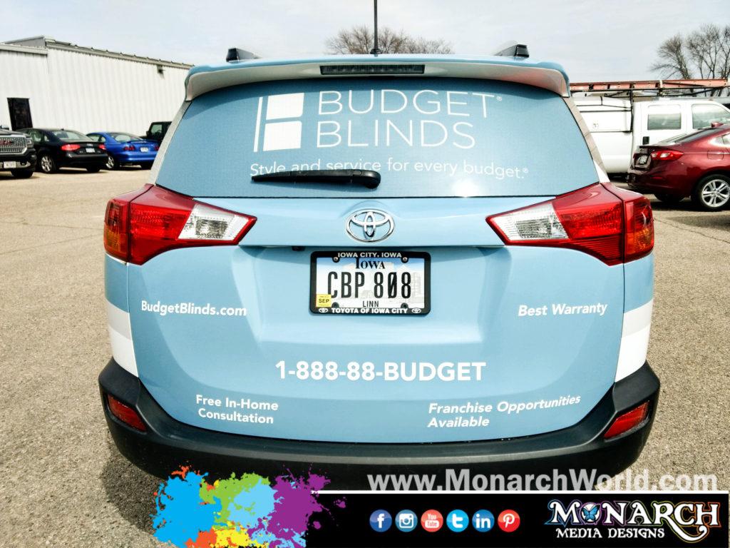 Budget Blinds Rav Wrap