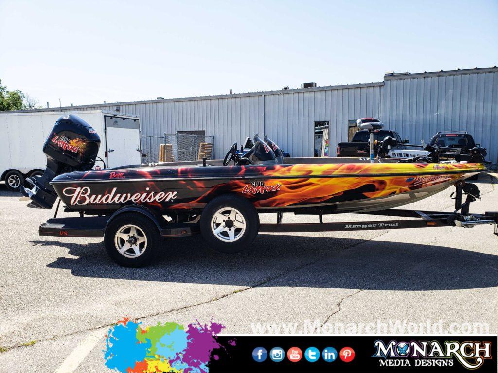 Club Lamark Boat Wrap