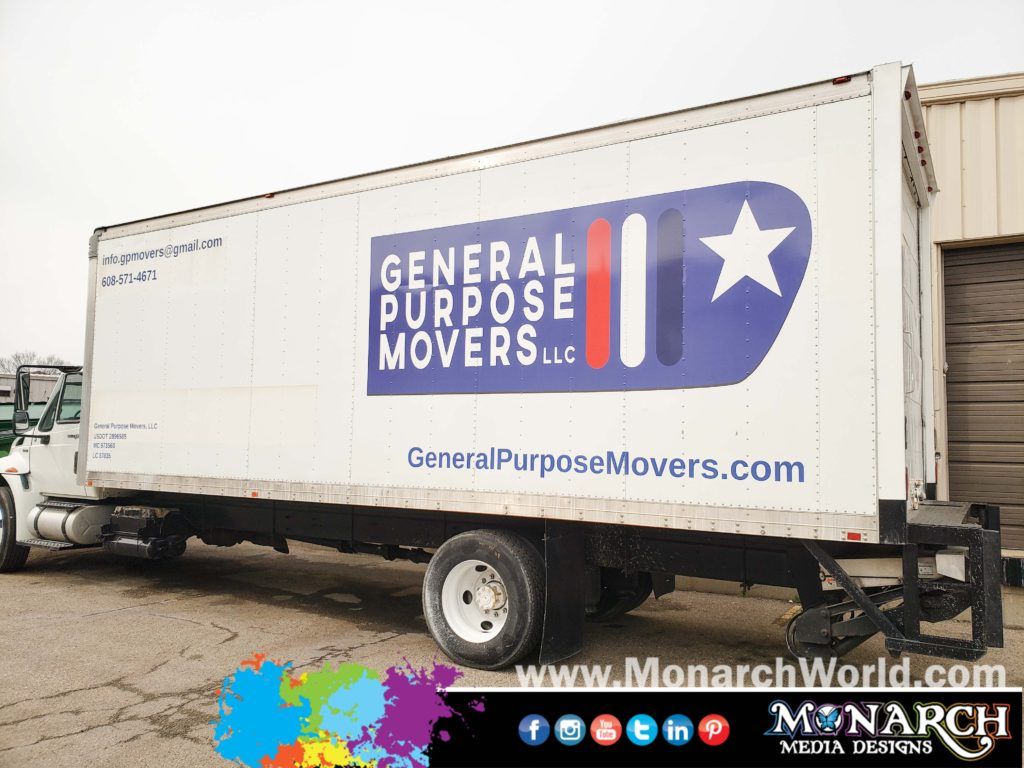 General Purpose Movers Truck