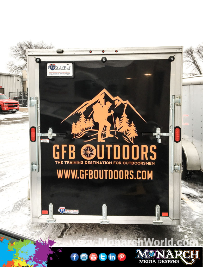 Get Fit With Brian Trailer Vinyl Graphics