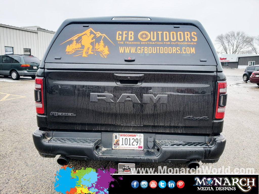 Gfb Outdoors Rear Window Graphics