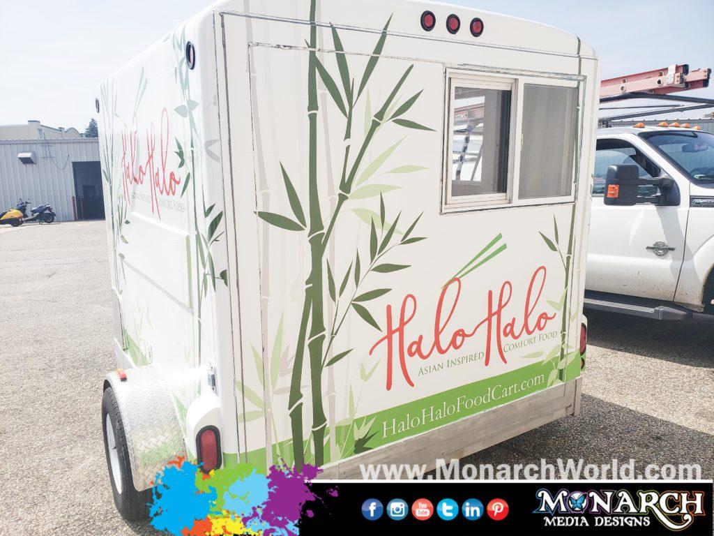 Halo Halo Food Cart Wrap