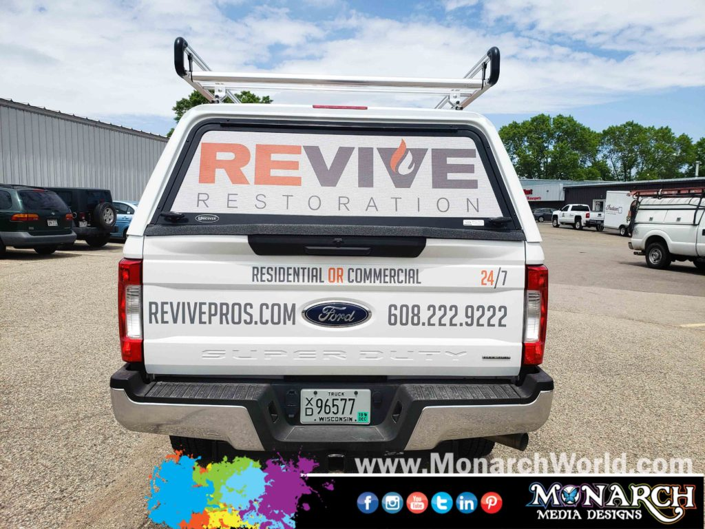 Revive Ford Truck Partial Wrap