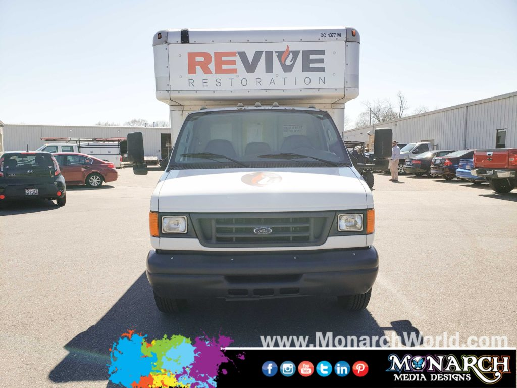 Revive Restoration Box Truck Graphics