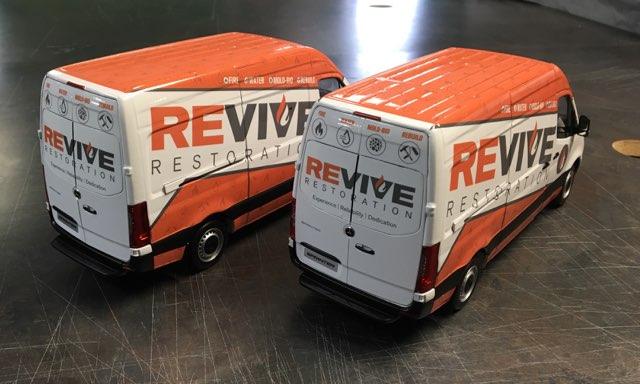 Revive Restoration Mini Sprinter Wraps