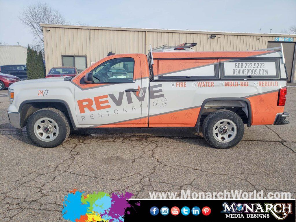 Revive Restoration Sierra Truck Graphics