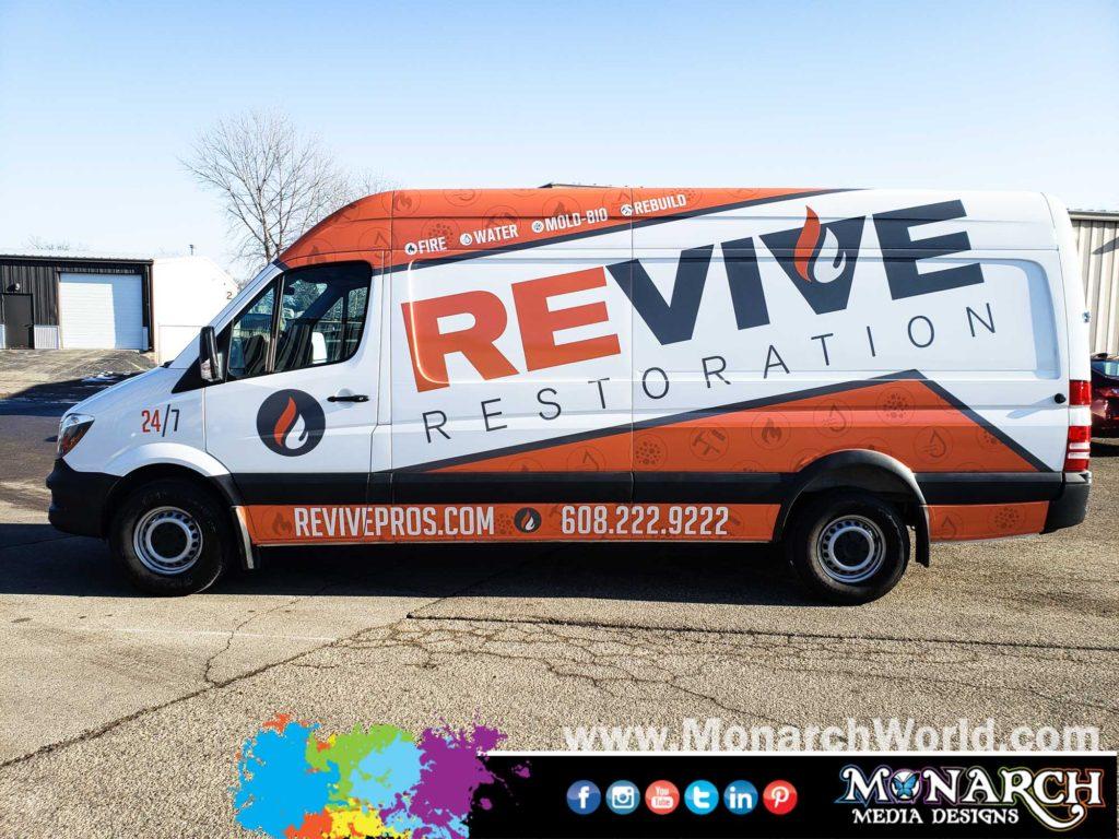 Revive Restoration Sprint Wrap