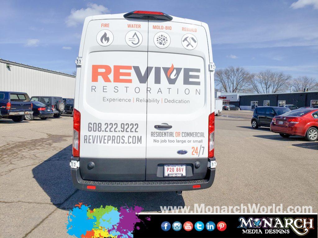 Revive Restoration Sprinter Graphics
