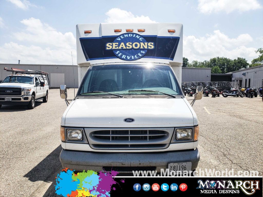 Seasons Vending Box Truck Wrap