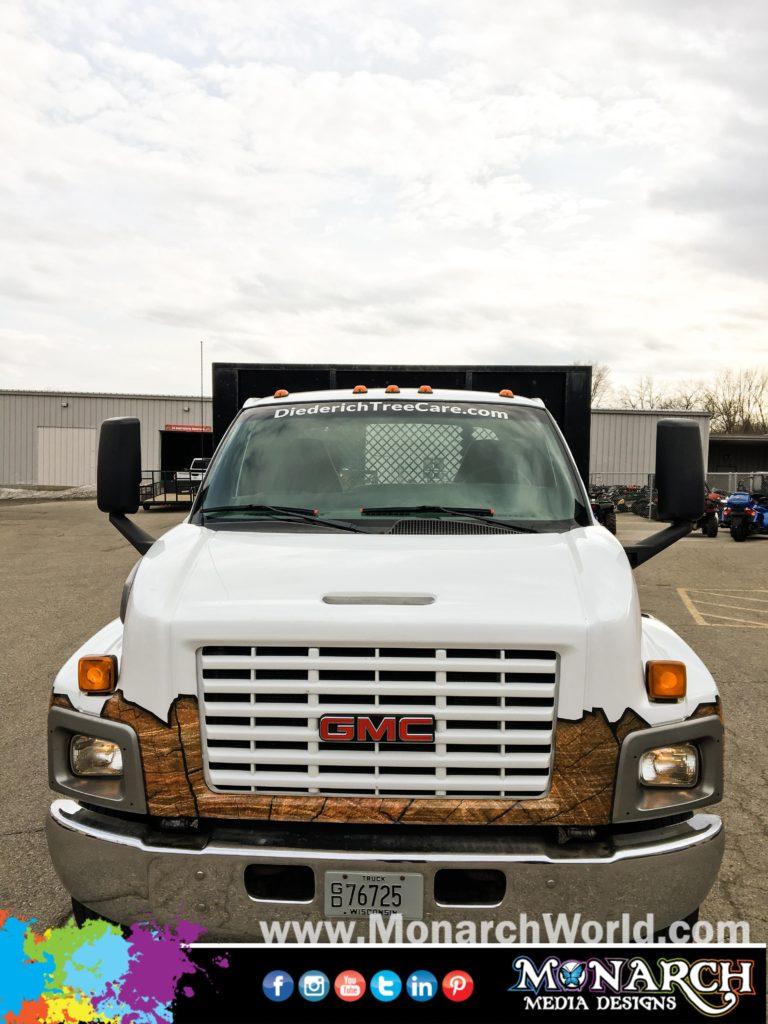 Slater Big Truck Cab Wrap