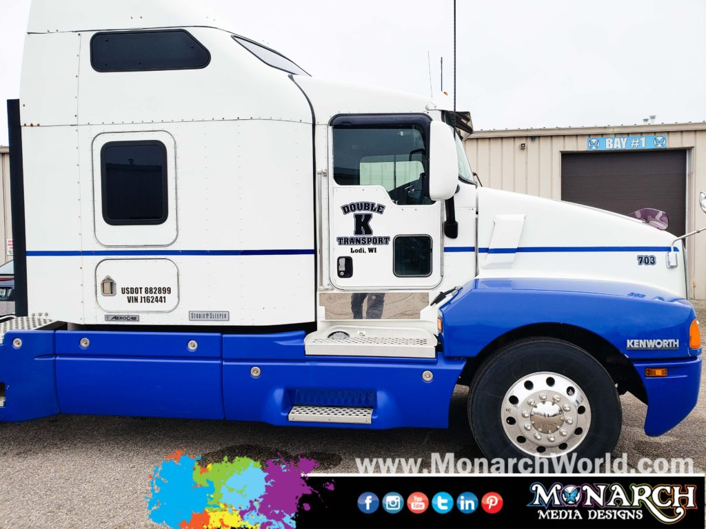 Special K Semi Truck Vinyl Graphics