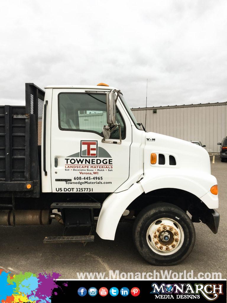 Townedge Truck Graphics