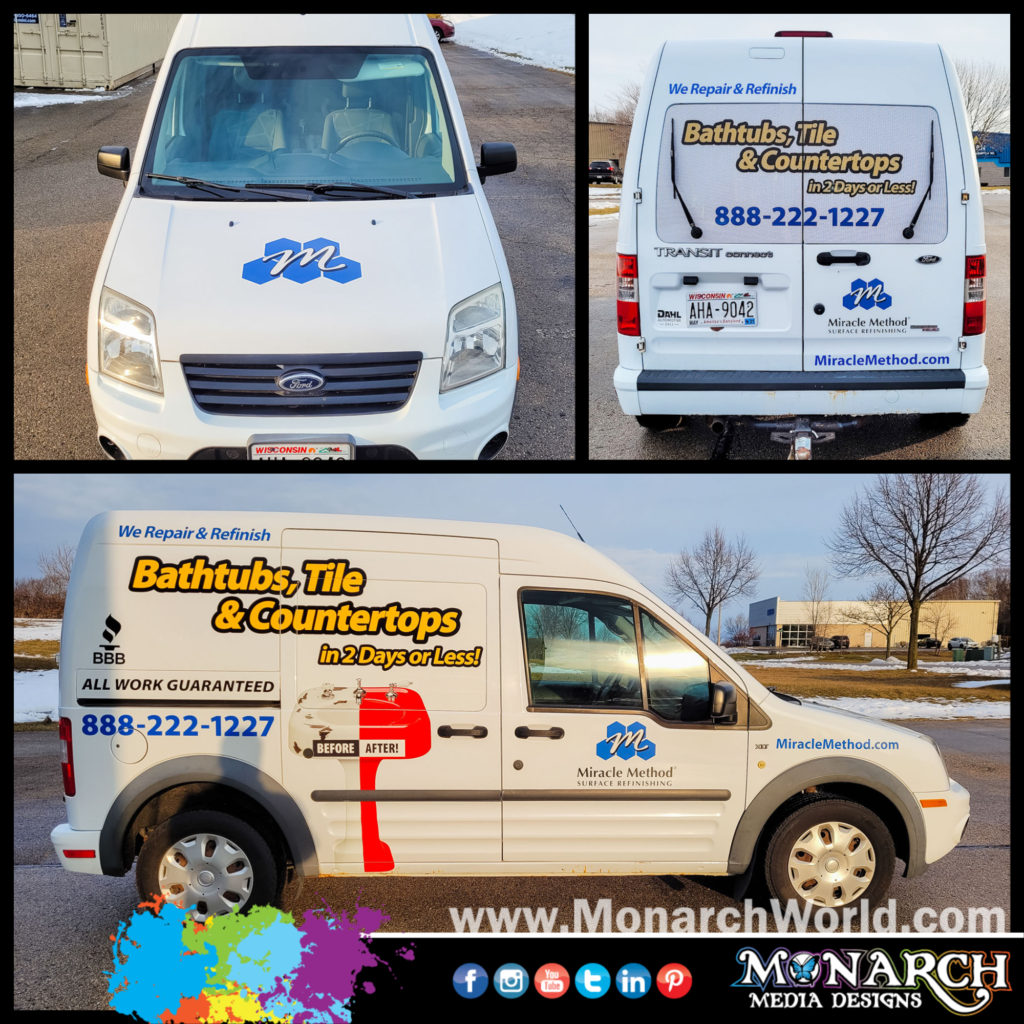 Miracle Method Vehicle Graphics Collage