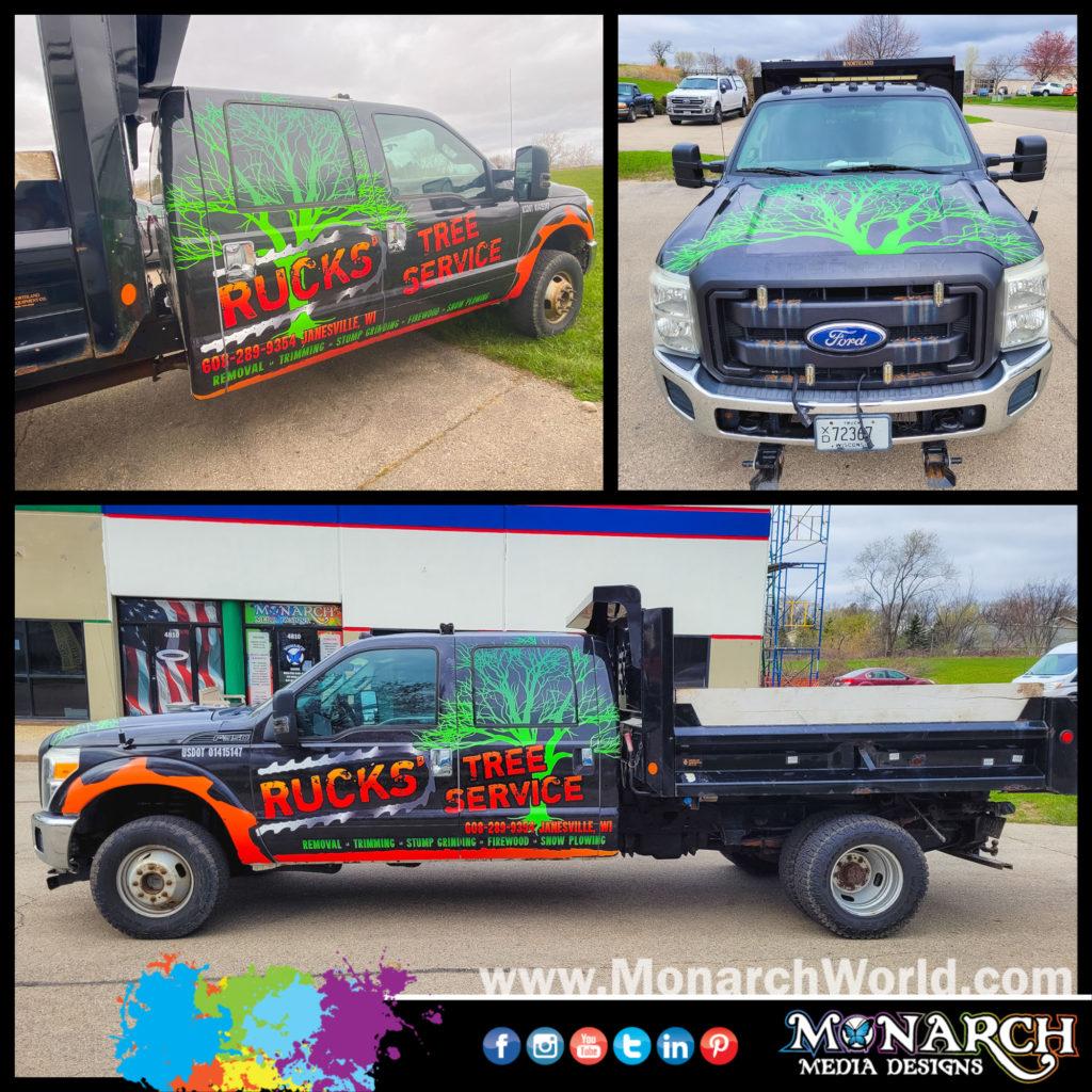 Rucks Dump Truck Collage